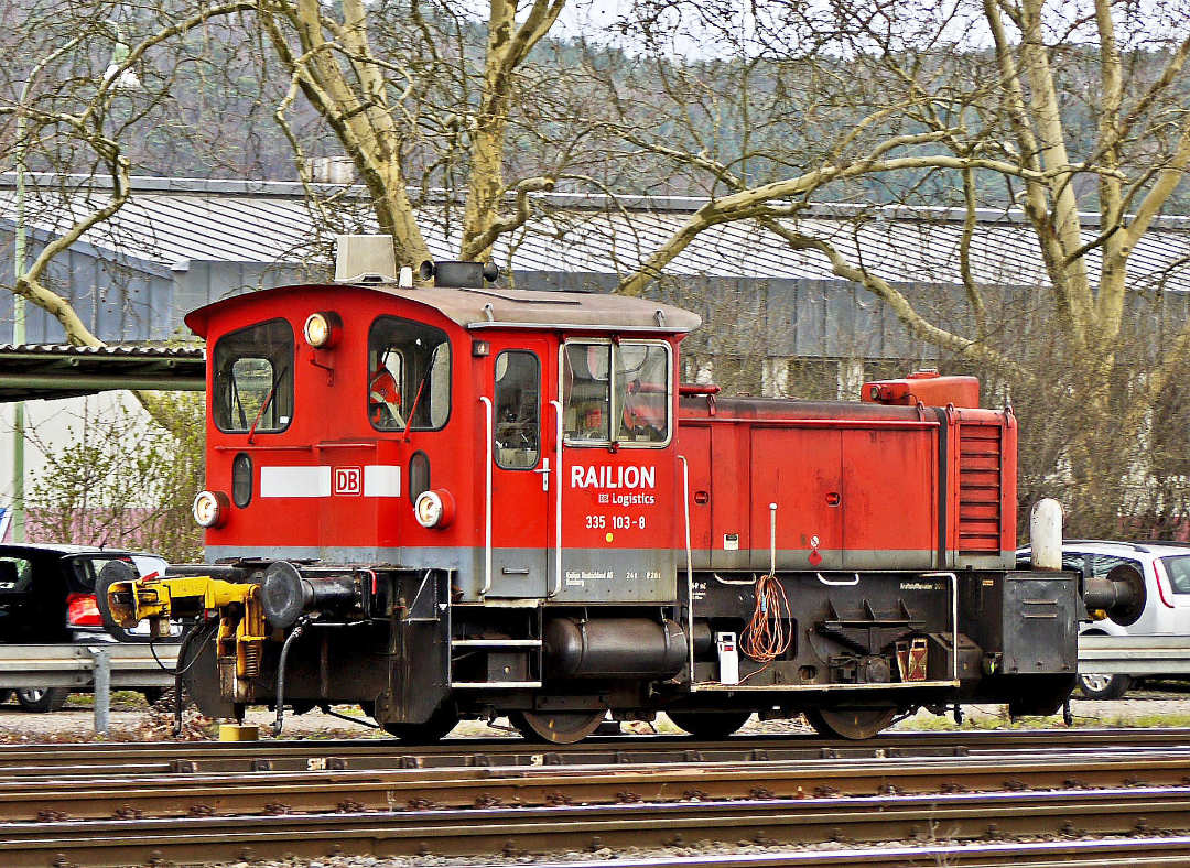 Kleinlokomotive Baureihe 335